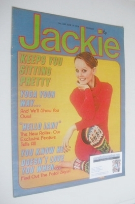 <!--1976-06-19-->Jackie magazine - 19 June 1976 (Issue 650)