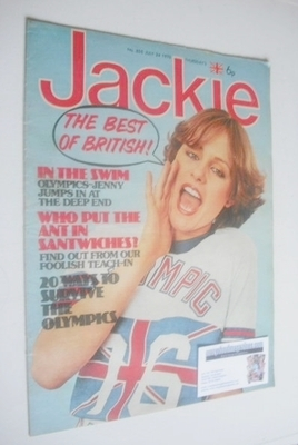 <!--1976-07-24-->Jackie magazine - 24 July 1976 (Issue 655)