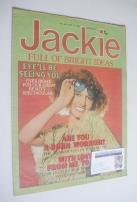 <!--1976-07-31-->Jackie magazine - 31 July 1976 (Issue 656)