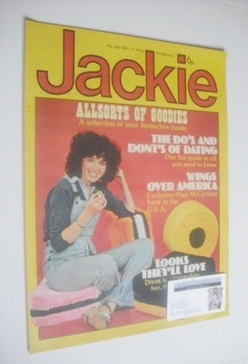 <!--1976-09-11-->Jackie magazine - 11 September 1976 (Issue 662)