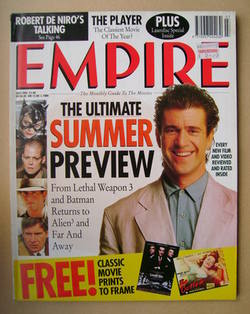 <!--1992-07-->Empire magazine - Mel Gibson cover (July 1992 - Issue 37)