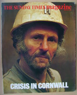<!--1986-02-23-->The Sunday Times magazine - Crisis In Cornwall cover (23 F