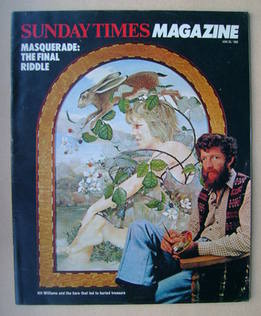 <!--1982-06-20-->The Sunday Times magazine - Kit Williams cover (20 June 19