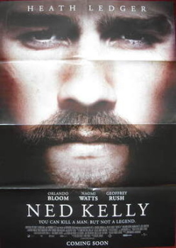 Heath Ledger poster (Ned Kelly)