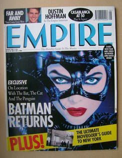 <!--1992-08-->Empire magazine - Michelle Pfeiffer cover (August 1992 - Issu
