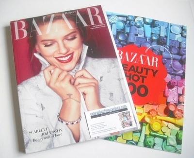 <!--2013-10-->Harper's Bazaar magazine - October 2013 - Scarlett Johansson
