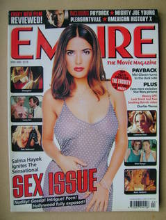 <!--1999-04-->Empire magazine - Salma Hayek cover (April 1999 - Issue 118)