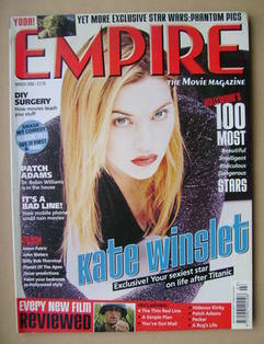 <!--1999-03-->Empire magazine - Kate Winslet cover (March 1999 - Issue 117)