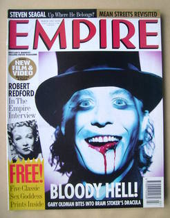 <!--1993-03-->Empire magazine - Gary Oldman cover (March 1993 - Issue 45)
