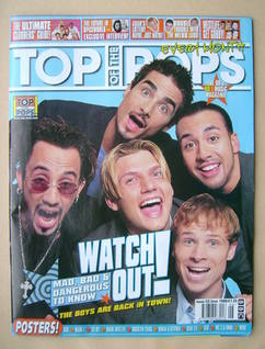 <!--1999-06-->Top Of The Pops magazine - Backstreet Boys cover (June 1999)