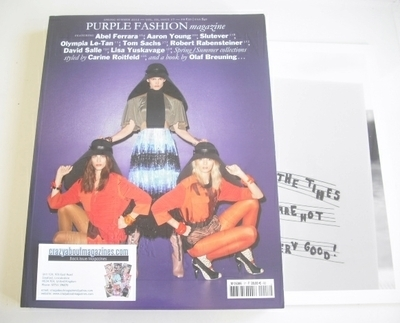 Purple Fashion magazine (Spring/Summer 2012 - Issue 17)