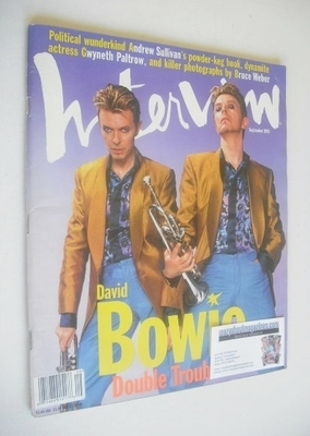 <!--1995-09-->Interview magazine - September 1995 - David Bowie cover