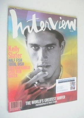 <!--1996-05-->Interview magazine - May 1996 - Kelly Slater cover