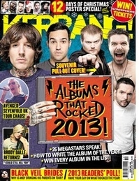 <!--2013-12-14-->Kerrang magazine - The Albums That Rocked 2013 cover (14 D