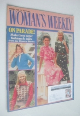 <!--1982-06-05-->Woman's Weekly magazine (5 June 1982 - British Edition)