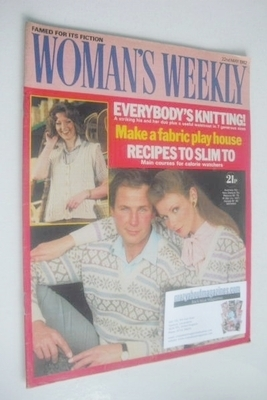 <!--1982-05-22-->Woman's Weekly magazine (22 May 1982 - British Edition)