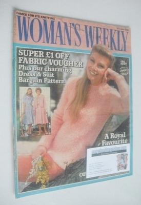 <!--1982-05-15-->Woman's Weekly magazine (15 May 1982 - British Edition)