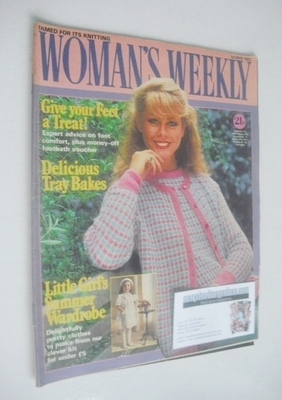 <!--1982-05-01-->Woman's Weekly magazine (1 May 1982 - British Edition)
