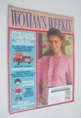<!--1982-04-24-->Woman's Weekly magazine (24 April 1982 - British Edition)