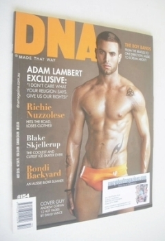 DNA magazine - Andrew Corvin cover (Issue 154)