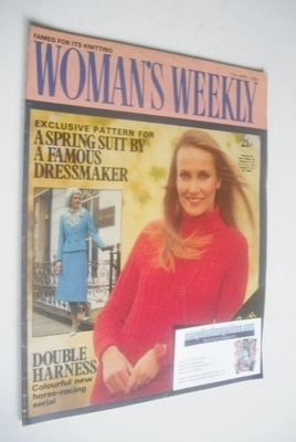 <!--1982-04-17-->Woman's Weekly magazine (17 April 1982 - British Edition)