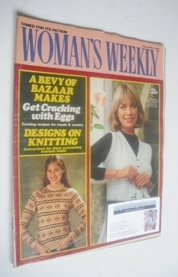 <!--1982-04-10-->Woman's Weekly magazine (10 April 1982 - British Edition)
