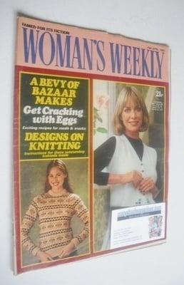 <!--1982-04-10-->Woman's Weekly magazine (10 April 1982 - British Edition)