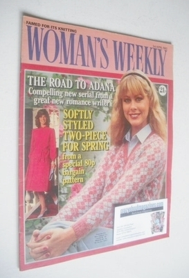 <!--1982-04-03-->Woman's Weekly magazine (3 April 1982 - British Edition)