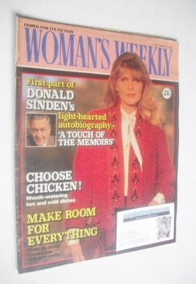 <!--1982-03-27-->Woman's Weekly magazine (27 March 1982 - British Edition)