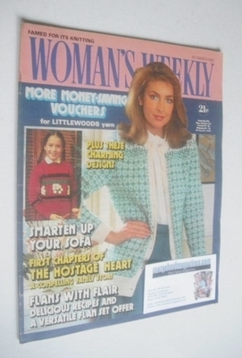 <!--1982-03-06-->Woman's Weekly magazine (6 March 1982 - British Edition)