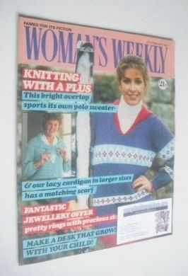 <!--1982-02-27-->Woman's Weekly magazine (27 February 1982 - British Editio