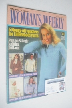 <!--1982-02-13-->Woman's Weekly magazine (13 February 1982 - British Editio