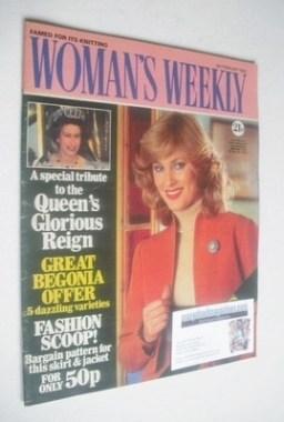 <!--1982-02-06-->Woman's Weekly magazine (6 February 1982 - British Edition