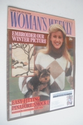 <!--1982-01-30-->Woman's Weekly magazine (30 January 1982 - British Edition