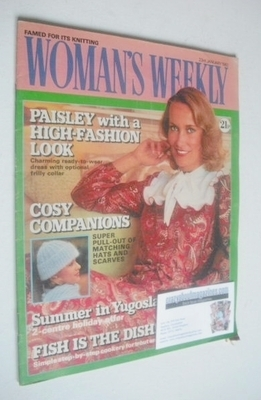 <!--1982-01-23-->Woman's Weekly magazine (23 January 1982 - British Edition