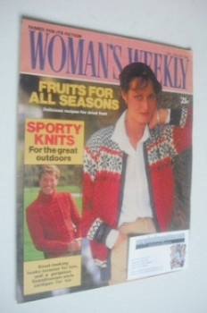 <!--1982-01-16-->Woman's Weekly magazine (16 January 1982 - British Edition)