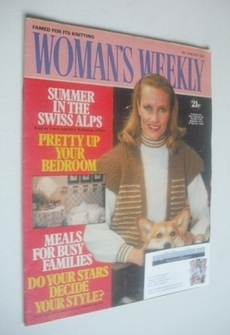 <!--1982-01-09-->Woman's Weekly magazine (9 January 1982 - British Edition)