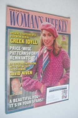 <!--1982-01-02-->Woman's Weekly magazine (2 January 1982 - British Edition)