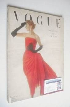 British Vogue magazine - January 1950 (Vintage Issue)