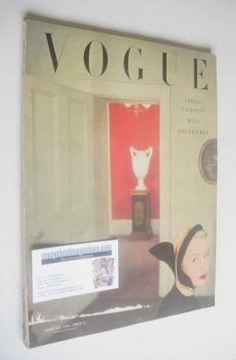 <!--1950-02-->British Vogue magazine - February 1950 (Vintage Issue)