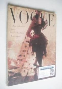 British Vogue magazine - March 1950 (Vintage Issue)