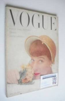 British Vogue magazine - April 1950 (Vintage Issue)