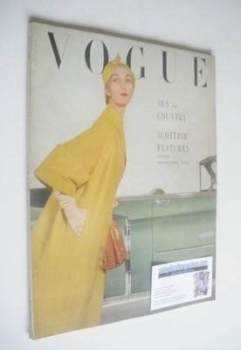 British Vogue magazine - July 1950 (Vintage Issue)