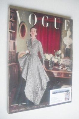 <!--1950-09-->British Vogue magazine - September 1950 (Vintage Issue)