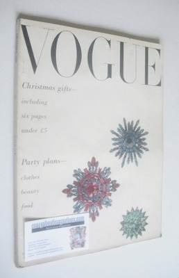 <!--1950-12-->British Vogue magazine - December 1950 (Vintage Issue)