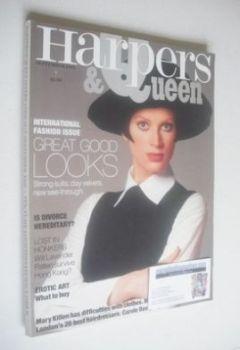British Harpers & Queen magazine - September 1993
