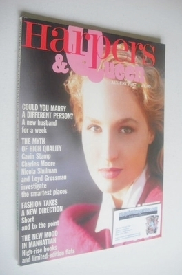 <!--1987-08-->British Harpers & Queen magazine - August 1987