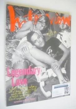 <!--1993-05-->Interview magazine - May 1993 - Stephen Dorff and Courtney Wagner cover