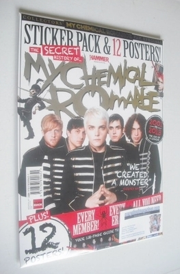 <!--2013-12-->Metal Hammer magazine - My Chemical Romance cover (December 2