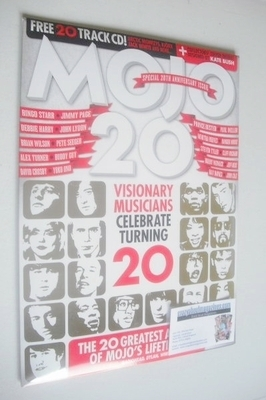 <!--2013-12-->MOJO magazine - Visionary Musicians Celebrate Turning 20 cove